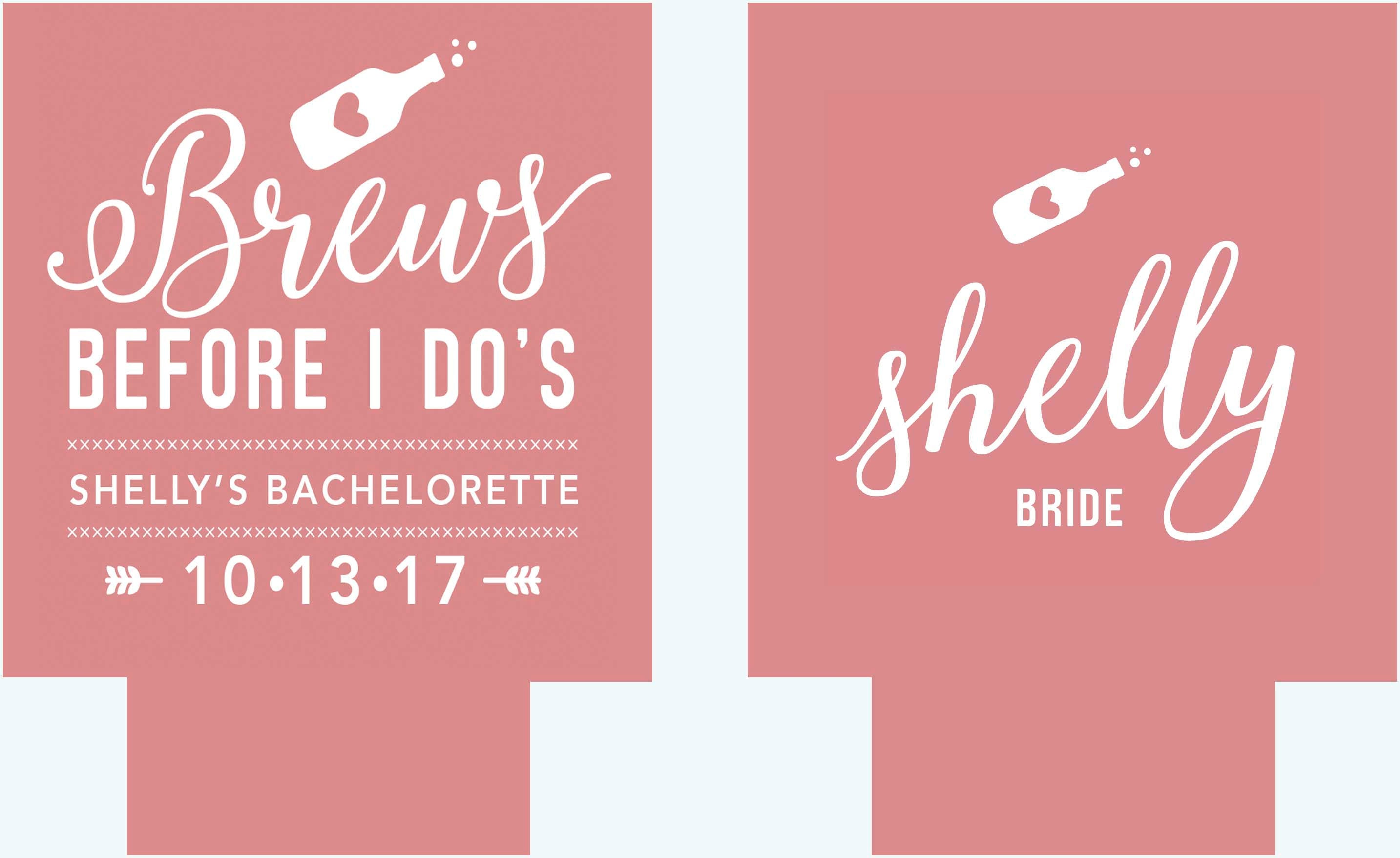 Brews before I Do\'s Party huggers. Bachelorette Party | Etsy