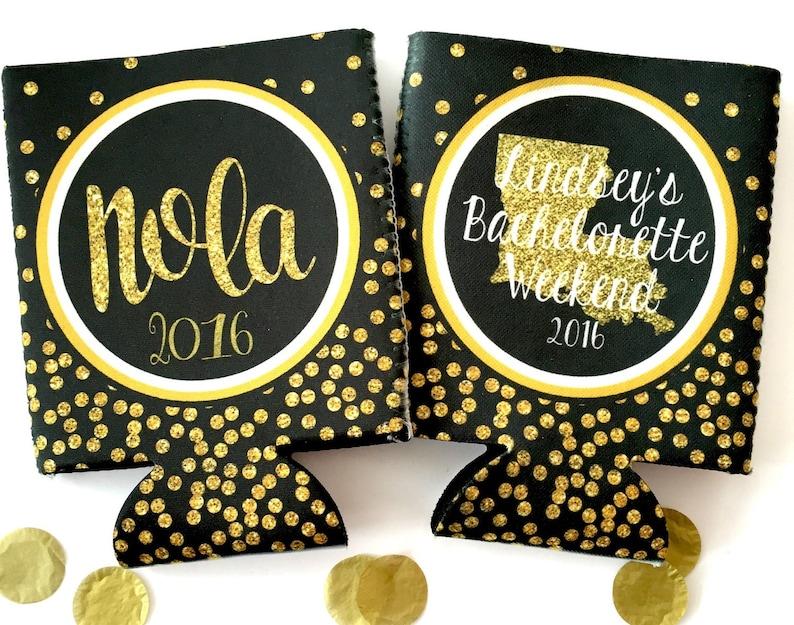 New Orleans Gold Glitter Huggers. NOLA Bachelorette or image 0