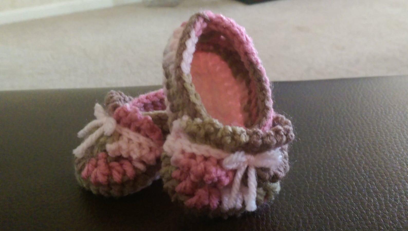 baby ruffle ballet booties