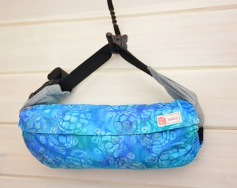6d41bc00964 Baby Carrier Cover (Reversible) Sea Turtles in Turquoise Blue Solid Black  (Terrapin in Turquoise) Tula Ergo Kinderpack Lillebaby