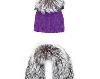 Frida Hat And Collar Set