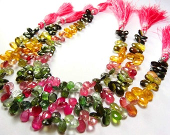 SUNSTONE Smooth Pear Shape  Beads Briolettes 10 TO 20 MM Size Natural Gem  Full stand 6.5 Inch Strand Super Finest-Quality