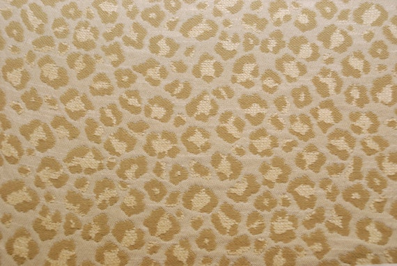 Celadon Green Cheetah Upholstery Fabric Leopard Print Etsy