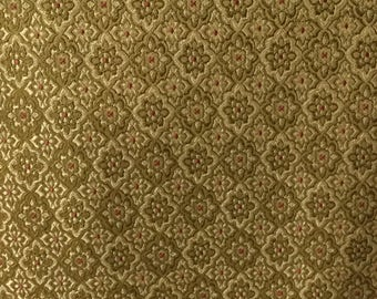 Gold Moroccan - Upholstery Fabric by the Yard