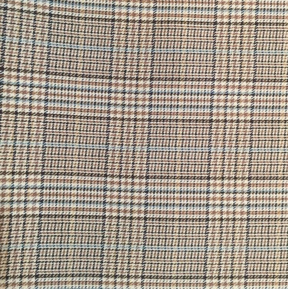 Houndstooth Plaid Upholstery Fabric Plaid Upholstery Etsy