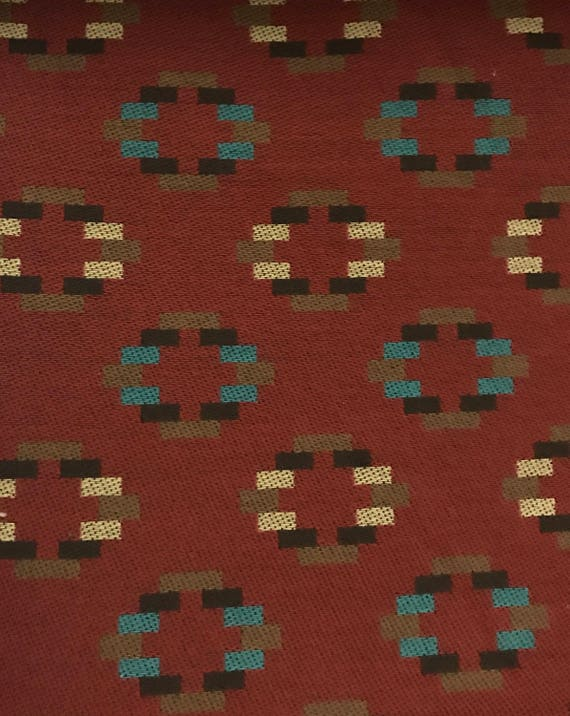 Tribal Western Geometric Upholstery Fabric By The Yard Etsy