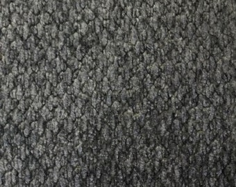FABRIC SALE - Grey Chenille - Upholstery Fabric by the Yard