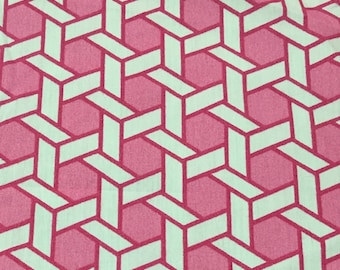 Bubble Gum Geometric - Upholstery Fabric by The Yard - Home Decor
