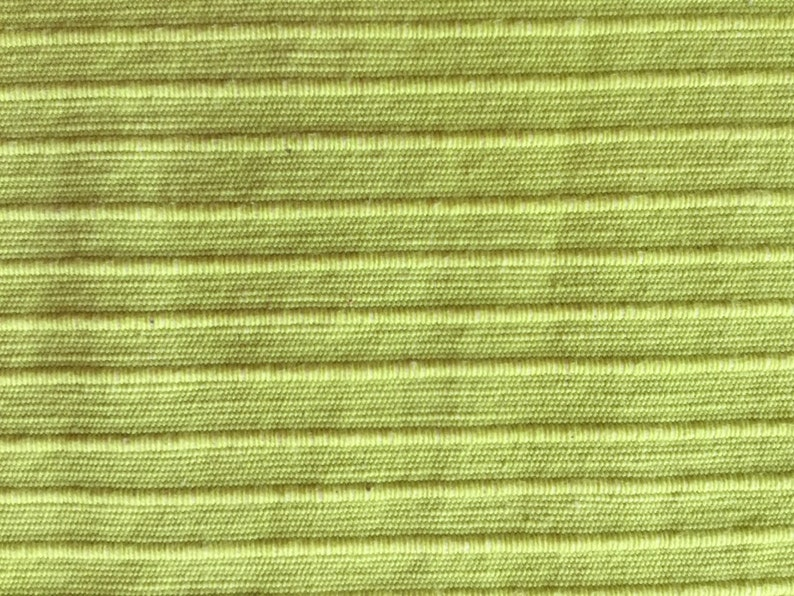 Upholstery Fabric by the Yard Solid Light Lime Green