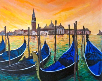 Golden Skys of Venice