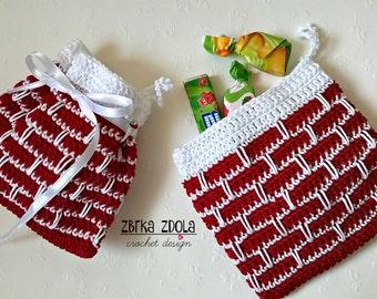 fdfa498eee Asel clutch bag Crochet Pattern No.025Summer Beach