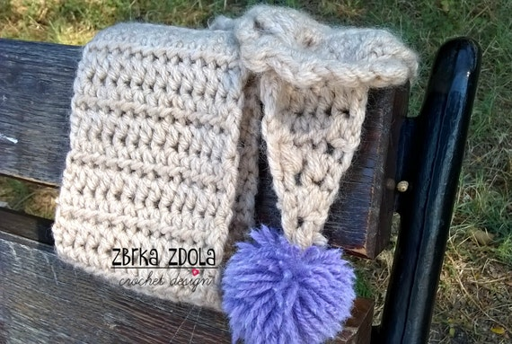 Little Mary Scarf Crochet Pattern Fall Crochet Winter Etsy