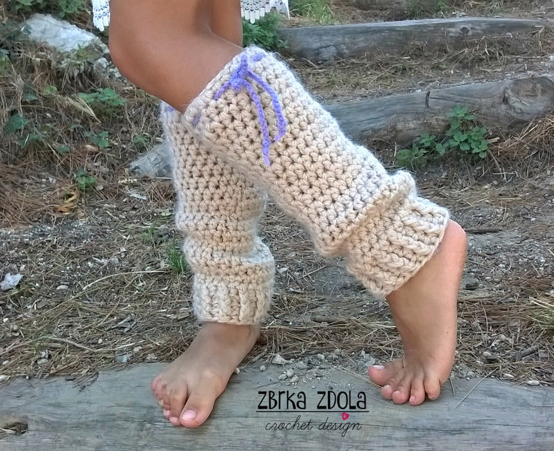 Little Mary Leg Warmers Crochet Pattern Fall Crochet Etsy