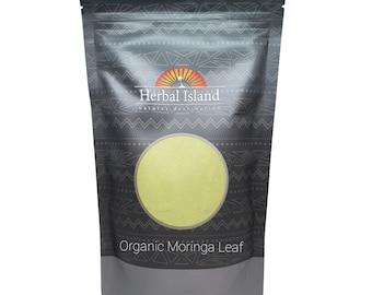 Moringa Oleifera Leaf Powder - Organic (All Natural 100% Herbal Supplement)