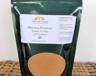 Mucuna Pruriens Extract Powder 20% L-Dopa