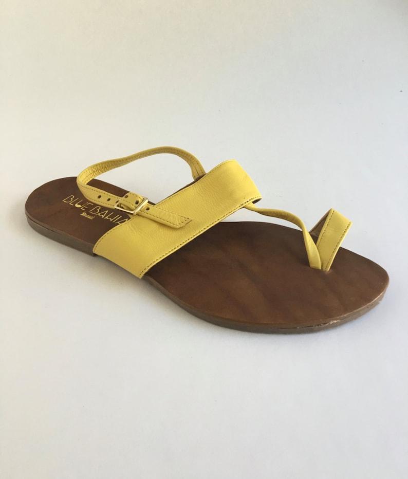 2bb13731d Brazilian Leather T-Strap Sandals | Etsy