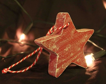 Hanging Christmas Star Decoration