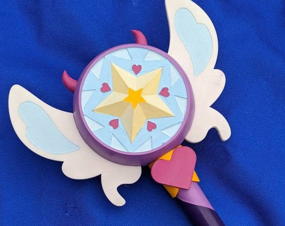 Star Vs the Forces of Evil Star Butterfly Inspired Season 3 Wand Cosplay Prop
