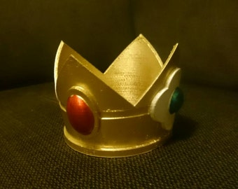 Princess Daisy-inspired Crown - 3D Printed
