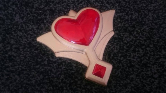 Cardcaptor Sakura Clear Card inspired Rocket Beat Opening Heart Shaped Accessory