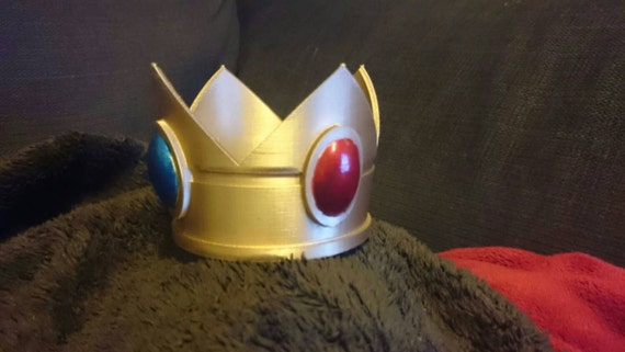 Princess Peach-inspired Crown - 3D Printed