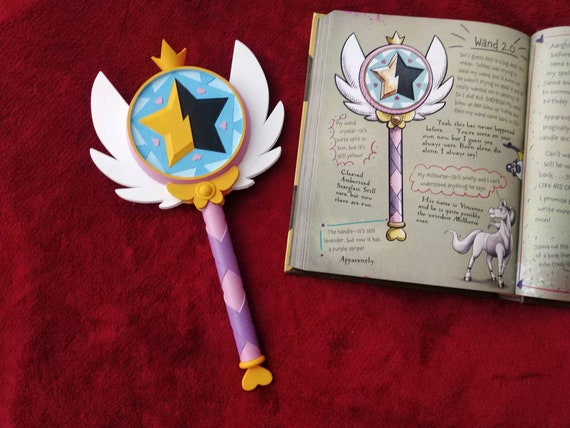 Star Vs the Forces of Evil Star Butterfly Inspired Wand Prop - Season 2