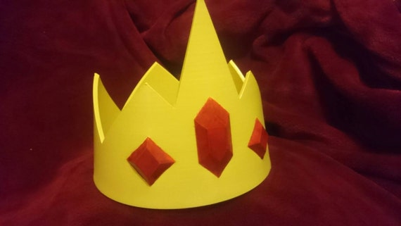 Ice King inspired cosplay crown - inspired by  Adventure Time (Adult Size)