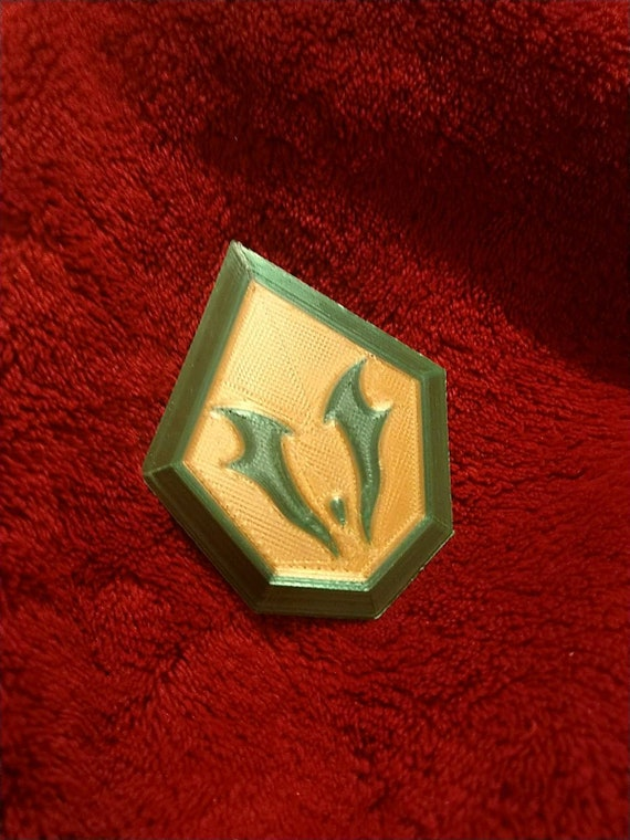 She-ra Inspired Force Captain Emblem Cosplay Prop
