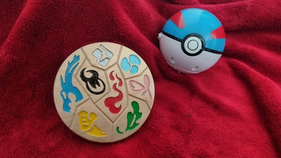 Pokémon Sword Shield Galar Inspired Gym Badge Medallion