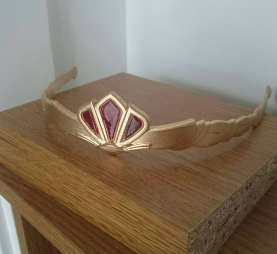 Breath of the Wild Inspired Princess Zelda Circlet Tiara Cosplay accessory