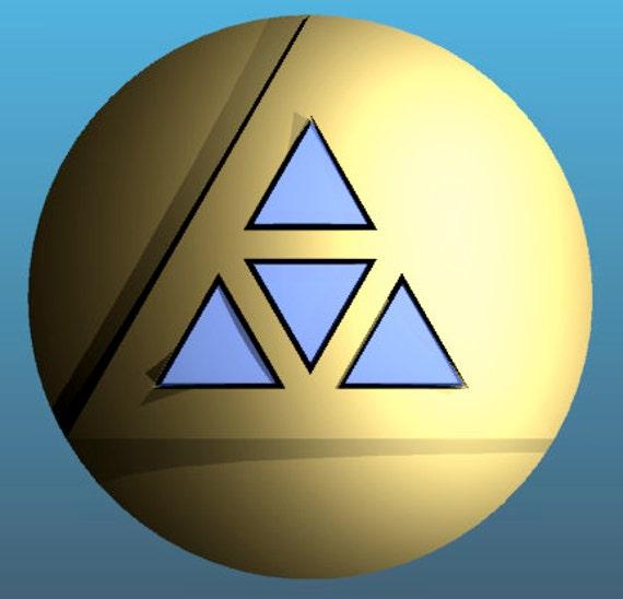 Princess Zelda inspired under-bust decoration - BOTW Cosplay
