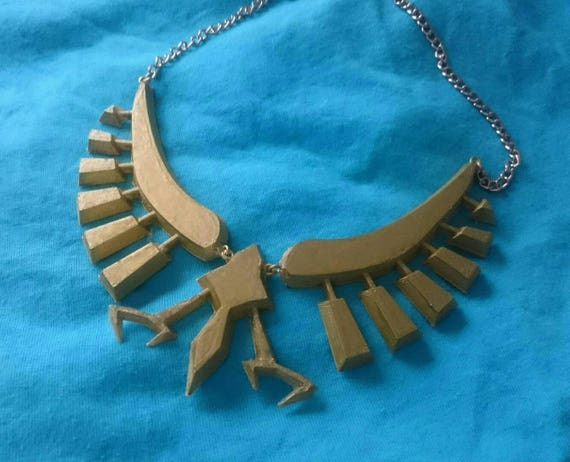 Breath of the Wild Inspired Zelda Necklace Cosplay Accessory