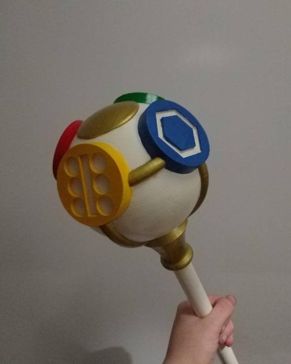 Legend of Zelda Inspired Rod of Seasons Prop Kit