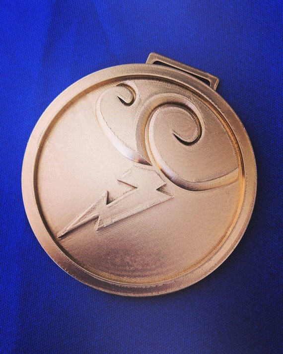 Disney's Hercules Inspired 3D Printed Belt Medallion