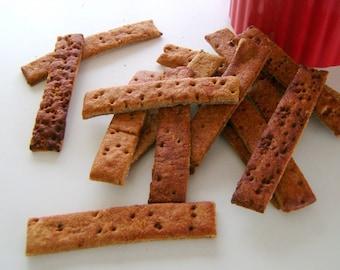 Bark-BQ-Rib BBQ Dog Biscuits Gourmet Dog Treats 1 lb.