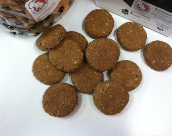 Wheat Free Oatmeal Cookie Bulk Gourmet Dog Treats 1 lb.
