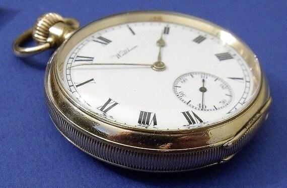 datazione Waltham orologi da tasca