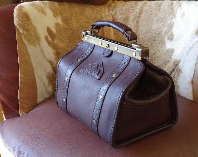 small bag doctor Brown Leather handbag
