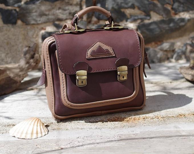 Mini backpack, Briefcase, suitcase, Briefcase