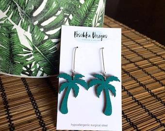Tropical Palm Tree Dangles