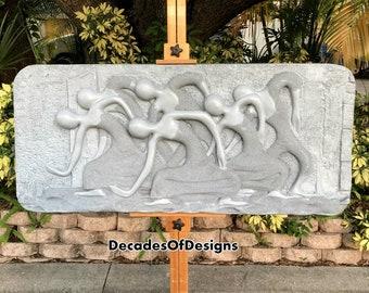 c04828af144 Finesse Originals Decorative Wall Sculpture Signed   Dated 1970s Dancers