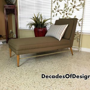 mid century paul mccobb chaise lounge for directional ca 1955 eames pearsall vintage retro - Chaise Retro