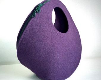 POPUP BAG, chiudi la zip e il foglio di feltro diventa una borsa tridimensionale