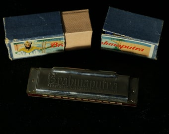 Table Game, collectible toy, vintage Brahmaputra HARMONICA, Registered No. 304522 Made in Germany 1950s