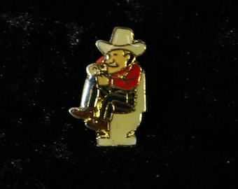 Vintage LOGO PIN, Miniature Toys, Cowboy Pin, enamel pin, Pinback Button, Fan pin, Patche, Badge, Comic