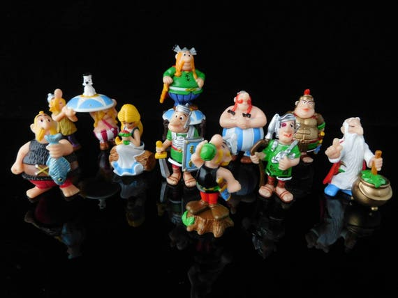 ASTERIX /& THE ROMANS from KINDER SURPRISE FULL SET Mini Figurines handpainted