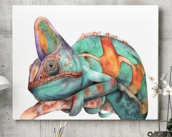 Lizard Painting Etsy