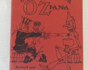 IBLIOGRAPHIA OZIANA Wizard of Oz L Frank Baum 1st Edition Collecting  Reference Book 1988 4de1a3cc14