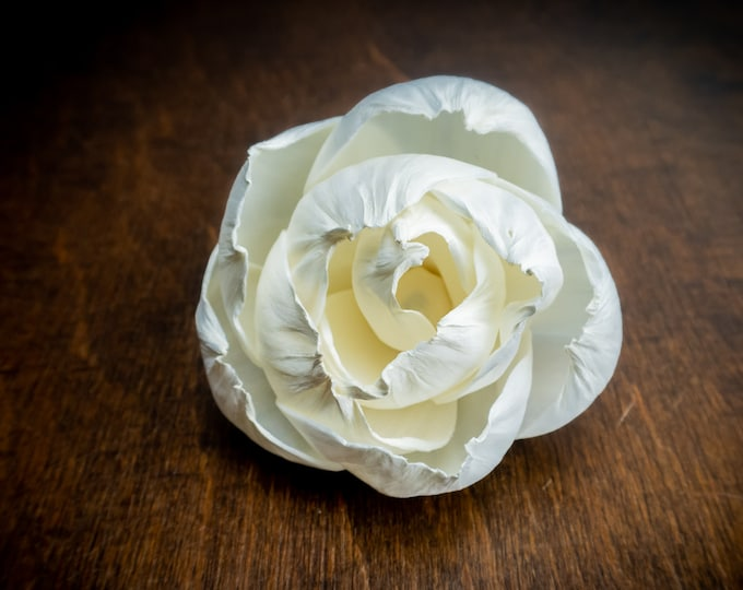 Peony sola flower, Wedding decor diy bouquet supply, organic wooden floral supply, 6cm flower, wholesale wooden flowers, table party decor
