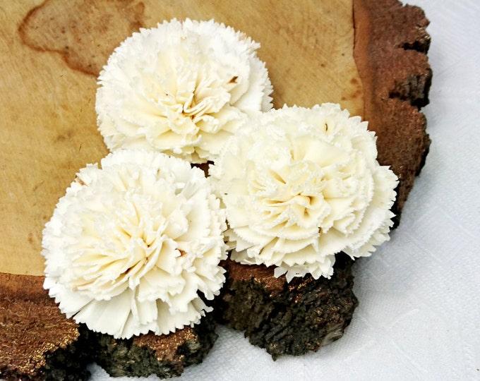 "Sola Flowers Wedding diy bouquet floral supply natural rustic 12 pcs 8cm 3 5⁄32"""